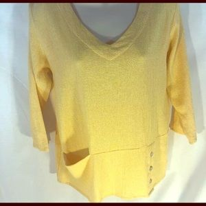 🥑NEW Toofan Woven Cotton Butter Yellow Tunic